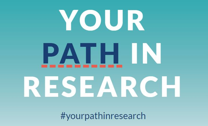 Image button link to the NIHR Your Path In Research website